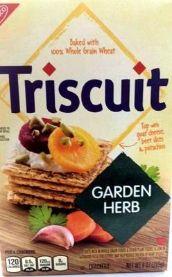 Triscuit garden herb crackers - Product