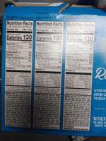 Biscuits blueberry - Información nutricional - en