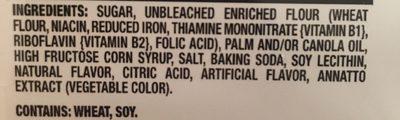 Oreo Lemon Creme - Ingredients