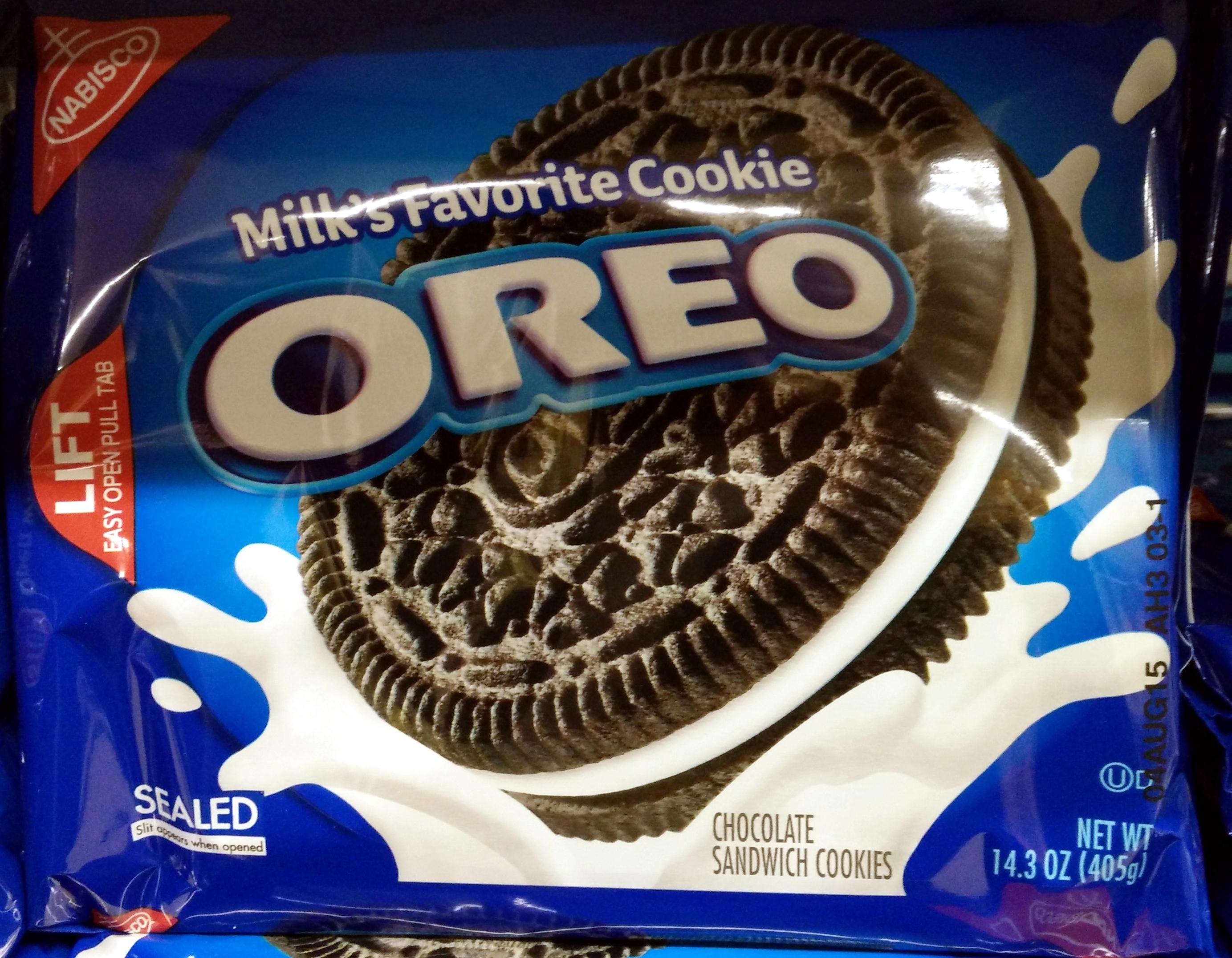 Nabisco oreo cookies 1x14.3 oz - Product - en