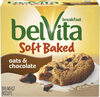 Soft baked oats chocolate breakfast biscuits count box - Product
