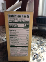 Cranberry orange breakfast biscuits, cranberry orange - Nutrition facts - en