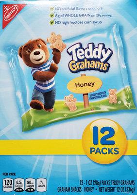 Teddy Grahams - Honey - Produit - en