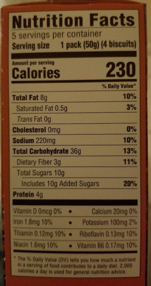 Pumpkin Spice - Nutrition facts