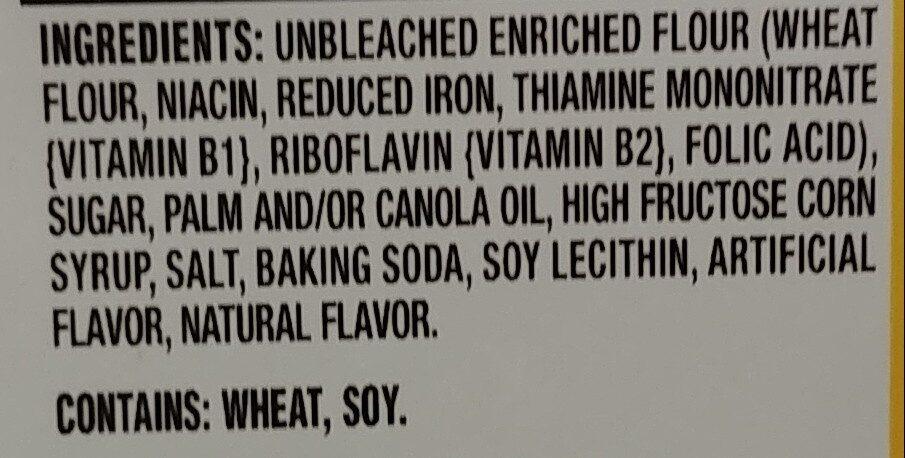 Nabisco oreo thins cookies golden oreo 1x10.1 oz - Ingredients - en