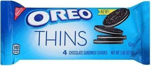 Chocolate Sandwich Cookies - Product - en