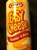 Nabisco easy cheese pasteurized cheese snack bacon 1x8.000 oz - Product
