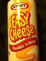 Cheddar 'n Bacon easy Cheese - Product