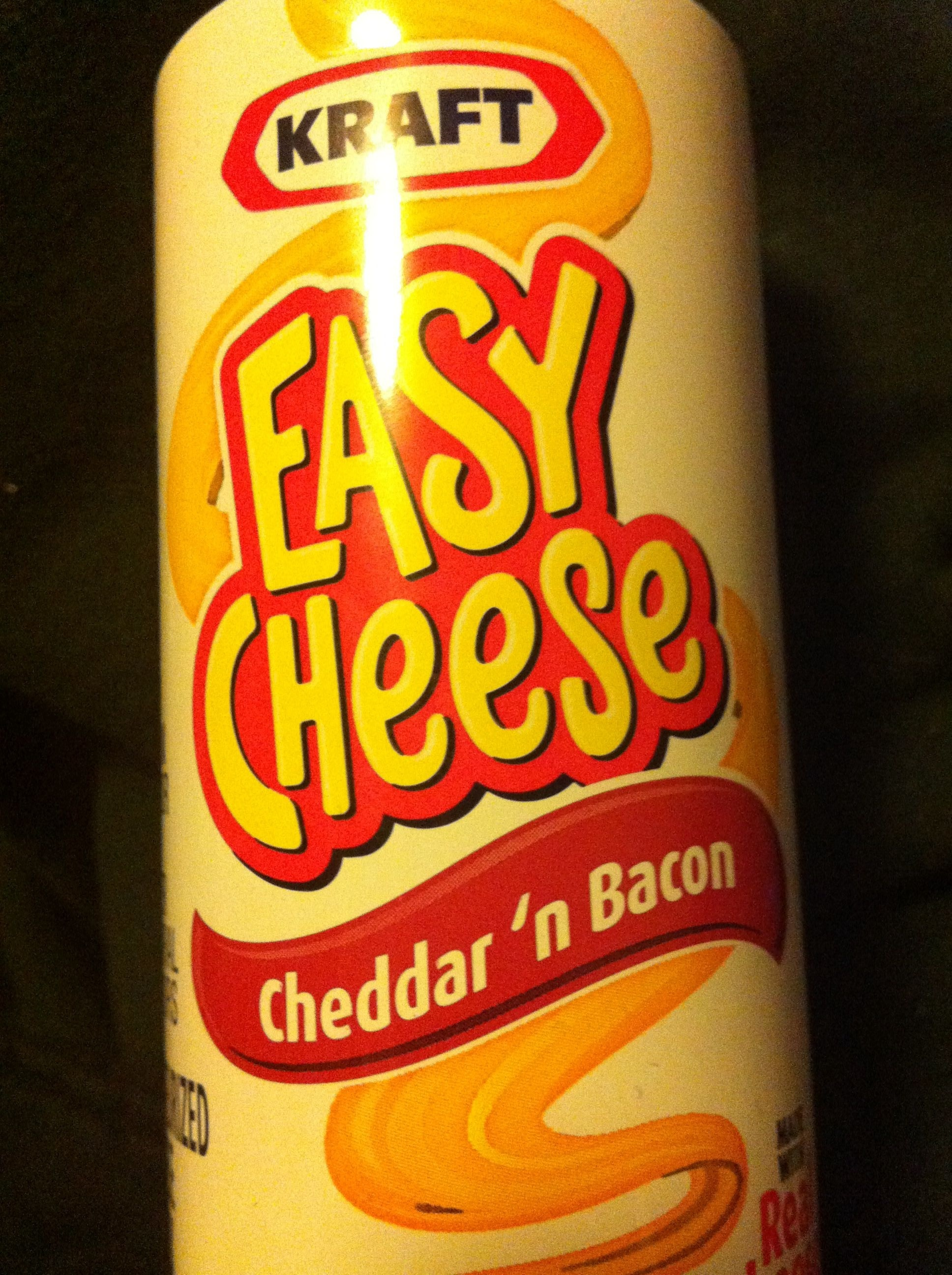 Nabisco easy cheese pasteurized cheese snack bacon 1x8.000 oz - Product - en