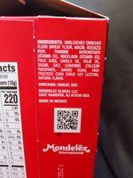 Ritz crackers family size fresh stacks 1x17.8 oz - Ingredients - en