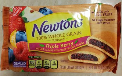 Nabisco newtons cookies mixed berry 1x10.000 oz - Product - en