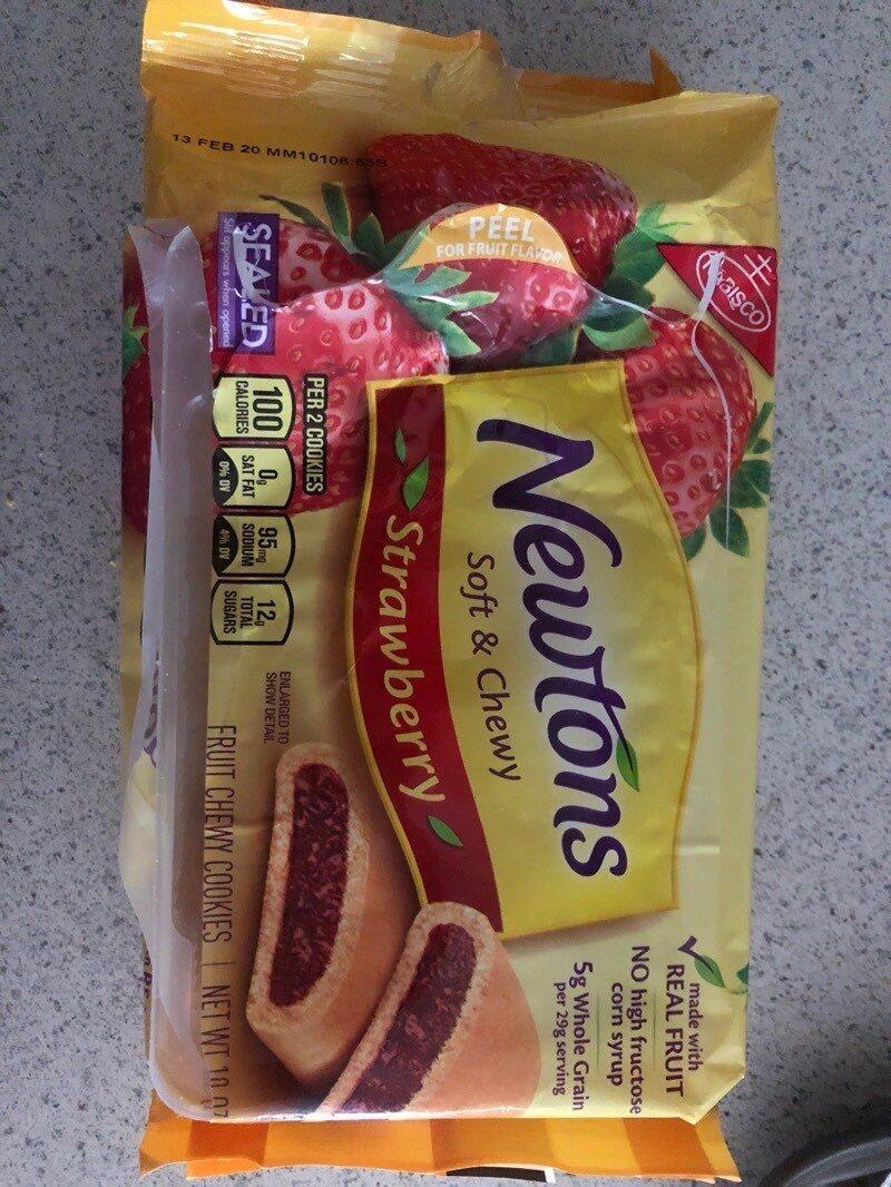 Nabisco newtons cookies strawberry 1x10 oz - Producto - es