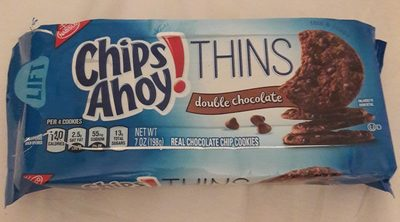 Chips Ahoy! Thins Double Chocolate - Product
