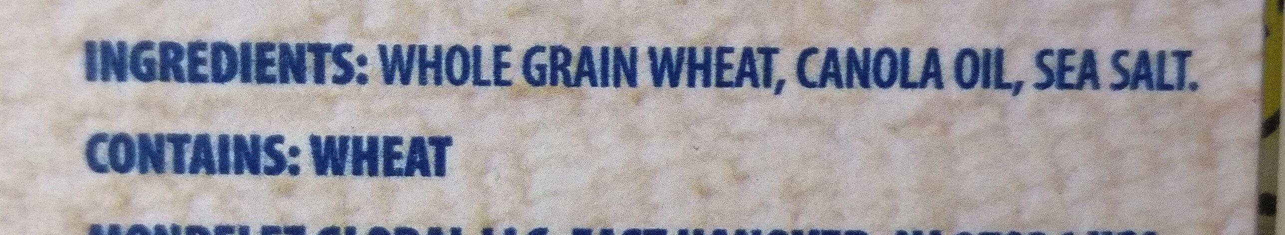 Triscuit crackers original 1x12.5 oz - Ingredients - en