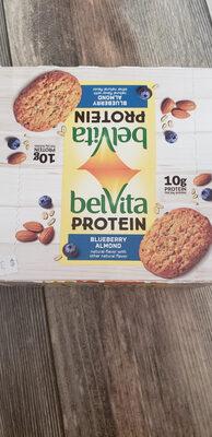 belvita protein blueberry almond - Producto - en