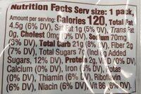 Belvita Cookies Bites 1X1 Oz - Nutrition facts - en
