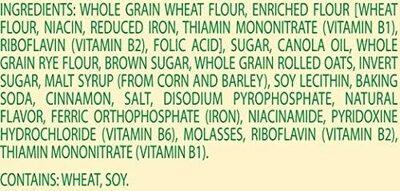 Belvita Snack Pack - Ingredients - en