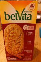 Belvita breakfast cinnamon brown sugar - Product - en