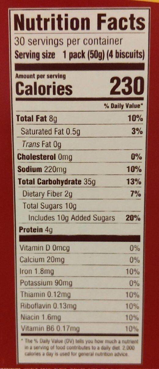 Belvita breakfast cinnamon brown sugar - Nutrition facts - en
