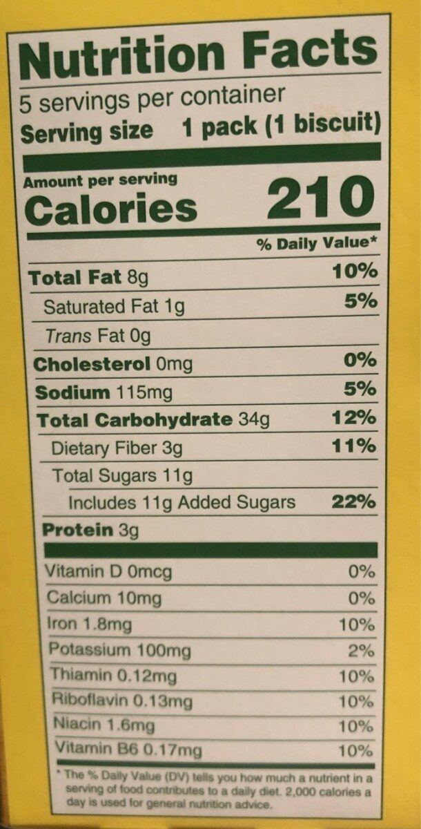 Cocoa creme soft filled baked biscuits - Nutrition facts - en