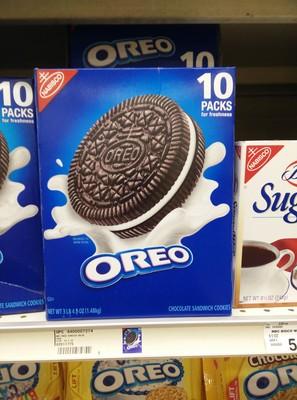 Nabisco oreo cookies 1x52.5 oz - 4