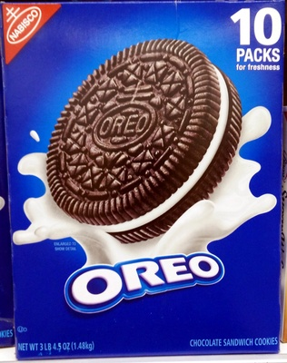Nabisco oreo cookies 1x52.5 oz - Product - en