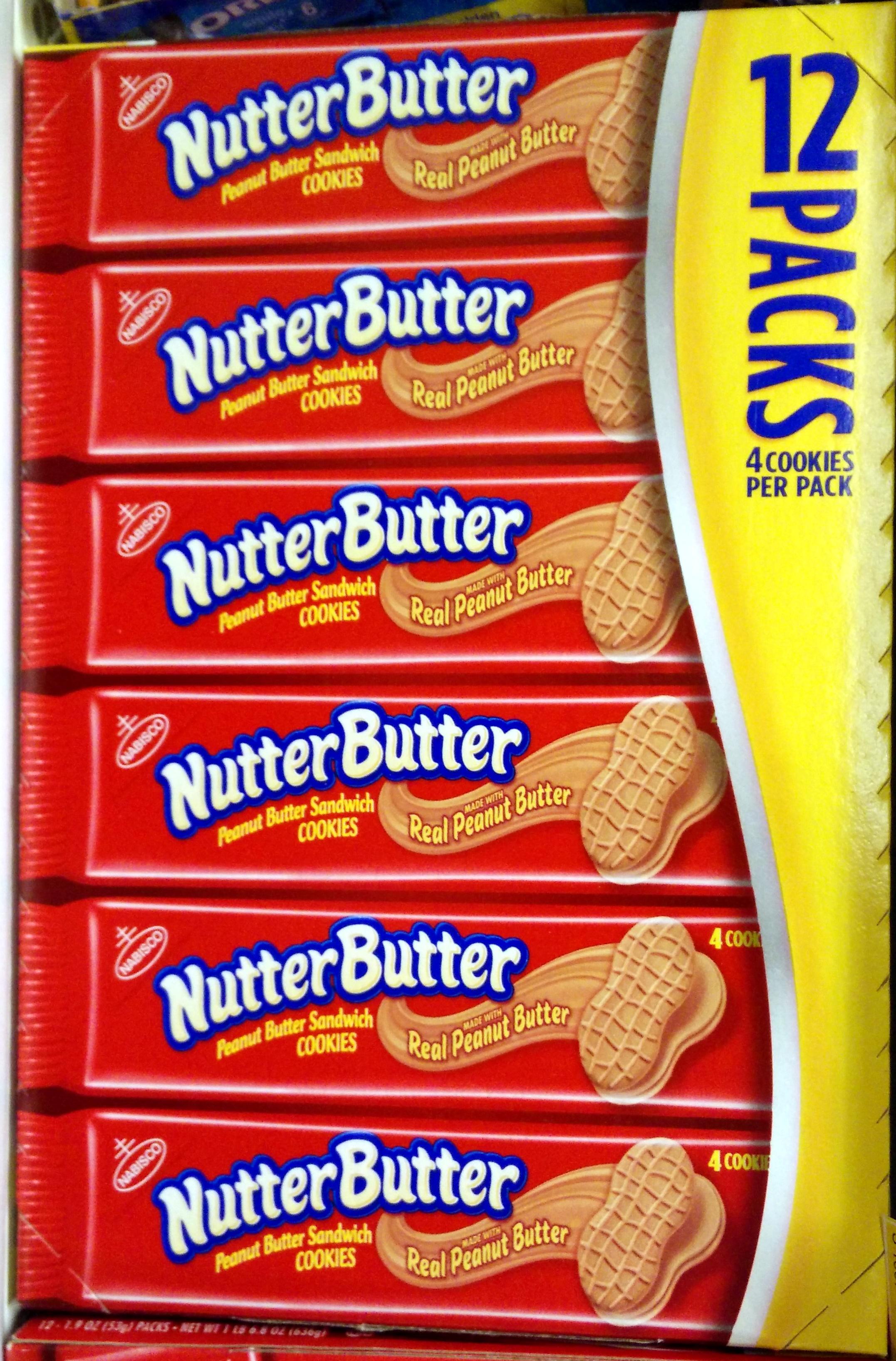 Peanut butter sandwich cookies - Produit - en