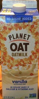 Vanilla oatmilk - Product - en