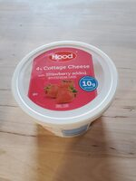 4% cottage cheese with strawberry, strawberry - Product - en