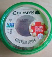 original hommus - Product
