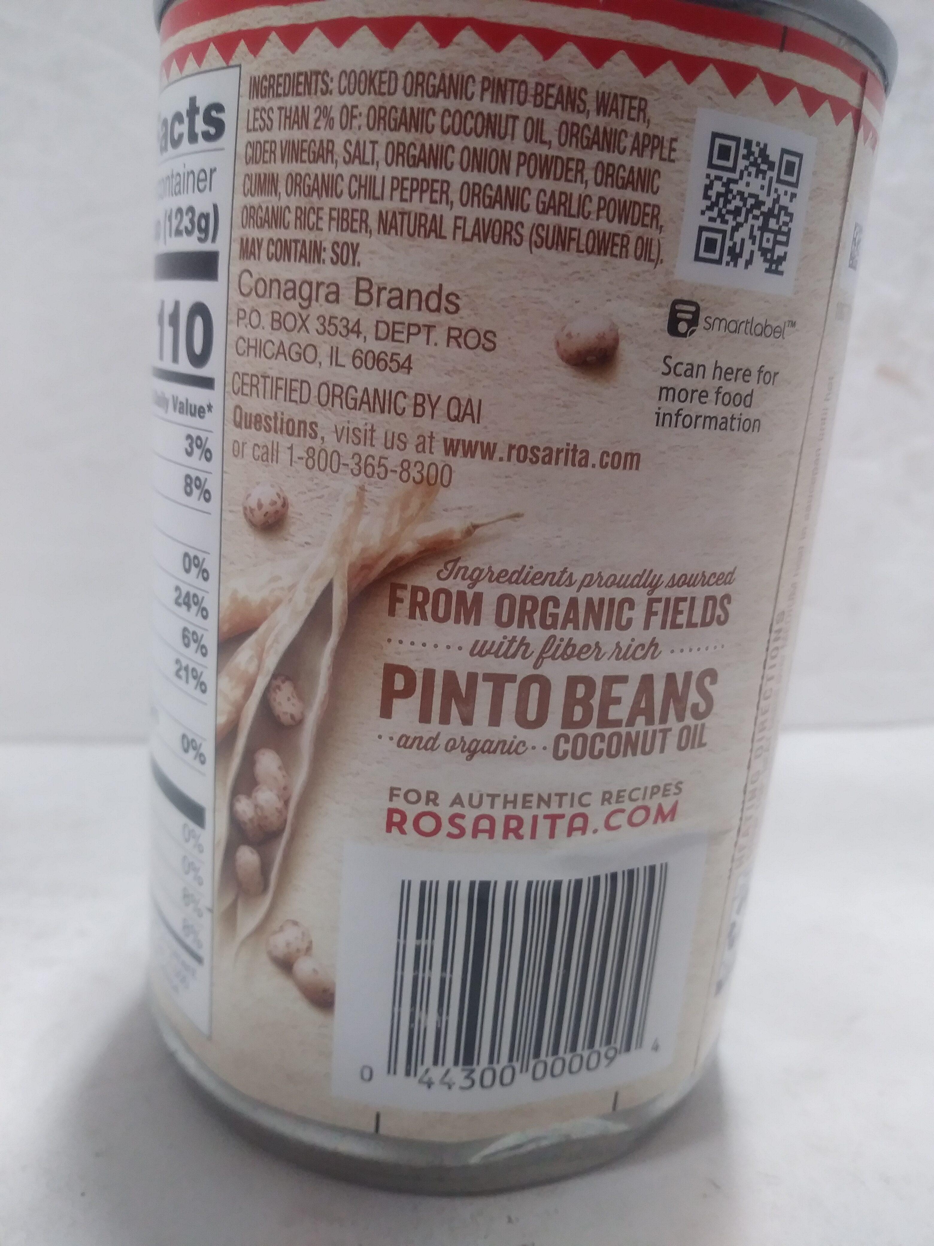 Traditional Refried Beans - Ingredients - en