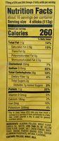 fish stick - Nutrition facts - en
