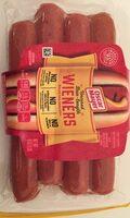 Uncured bun-length wieners, uncured - Product - en