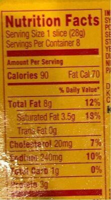 - Valori nutrizionali - en