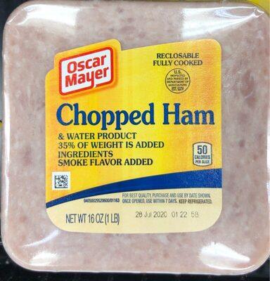 Chopped ham - Valori nutrizionali - en