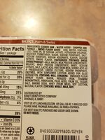 Ham & swiss with crackers convenience meal - Ingredienti - en