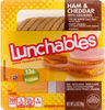 Ham & cheddar with crackers convenience meal - Product