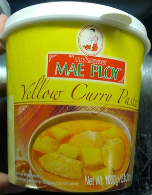 Yellow Curry Paste - Product