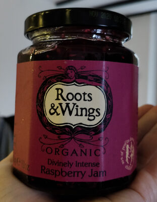 Organic Raspberry Jam - Produit