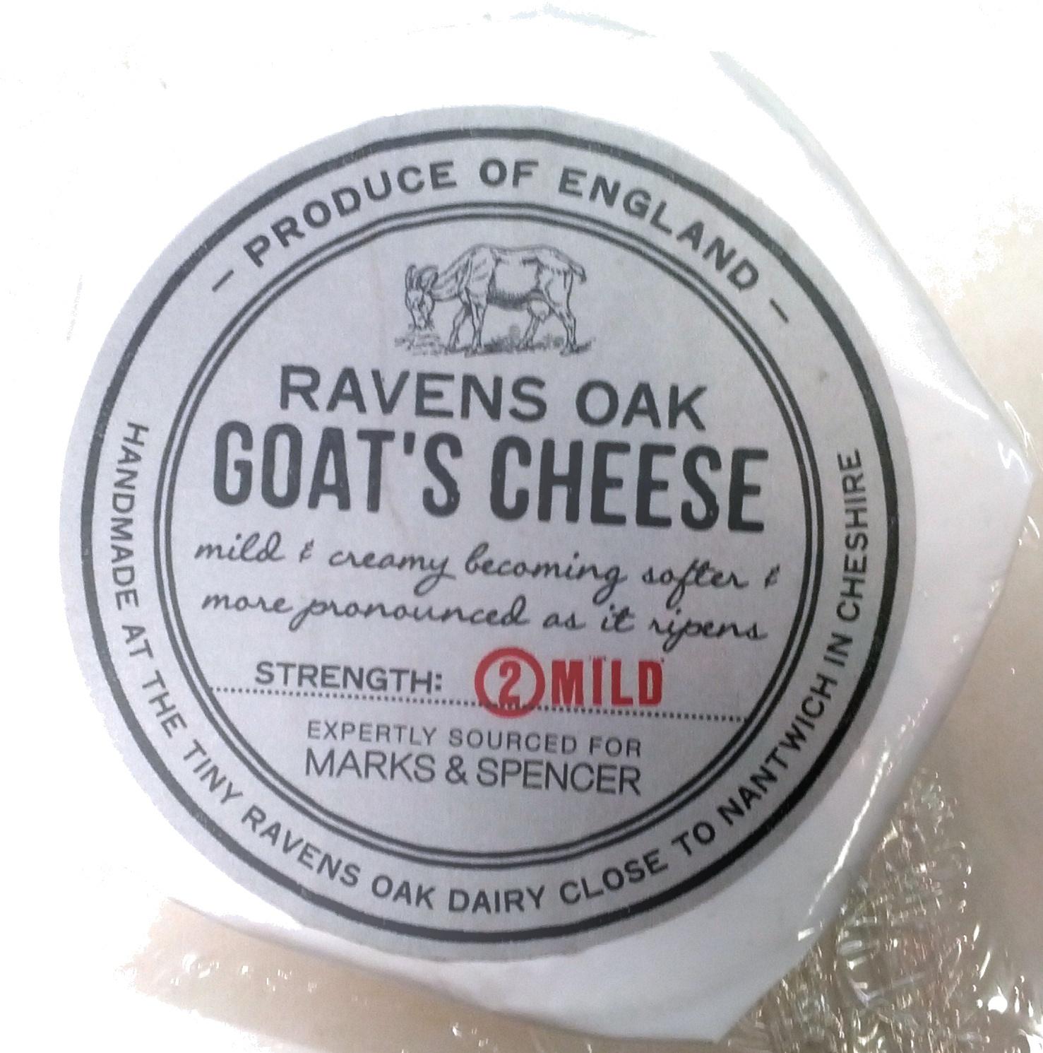 Ravens Oak Goat's Cheese - Prodotto - en