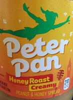 Peter Pan Creamy Honey Roast Peanut Spread, 40 oz, 40 OZ - Product - en