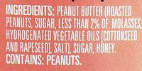 Peter Pan Creamy Honey Roast Peanut Spread, 40 oz, 40 OZ - Ingredients - en