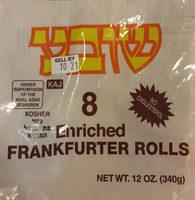 Enriched Frankfurter Rolls - Produit - en