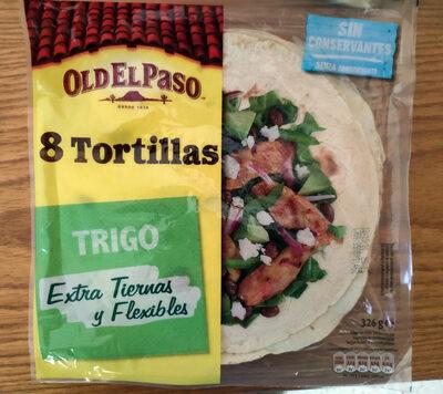 Tortillas trigo - Prodotto - it