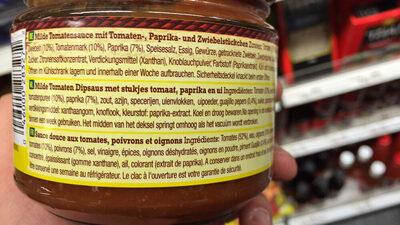 Salsa mejicana frasco 312 g - Ingrédients - fr