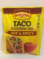 Old El Paso Hot and Spicy Taco Seasoning Mix - Product - en