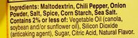 Less sodium taco seasoning - Ingredients - en