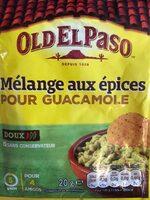Mélange d'épices pour guacamole - Product