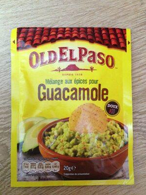Mélange aux épices pour guacamole - Product - fr