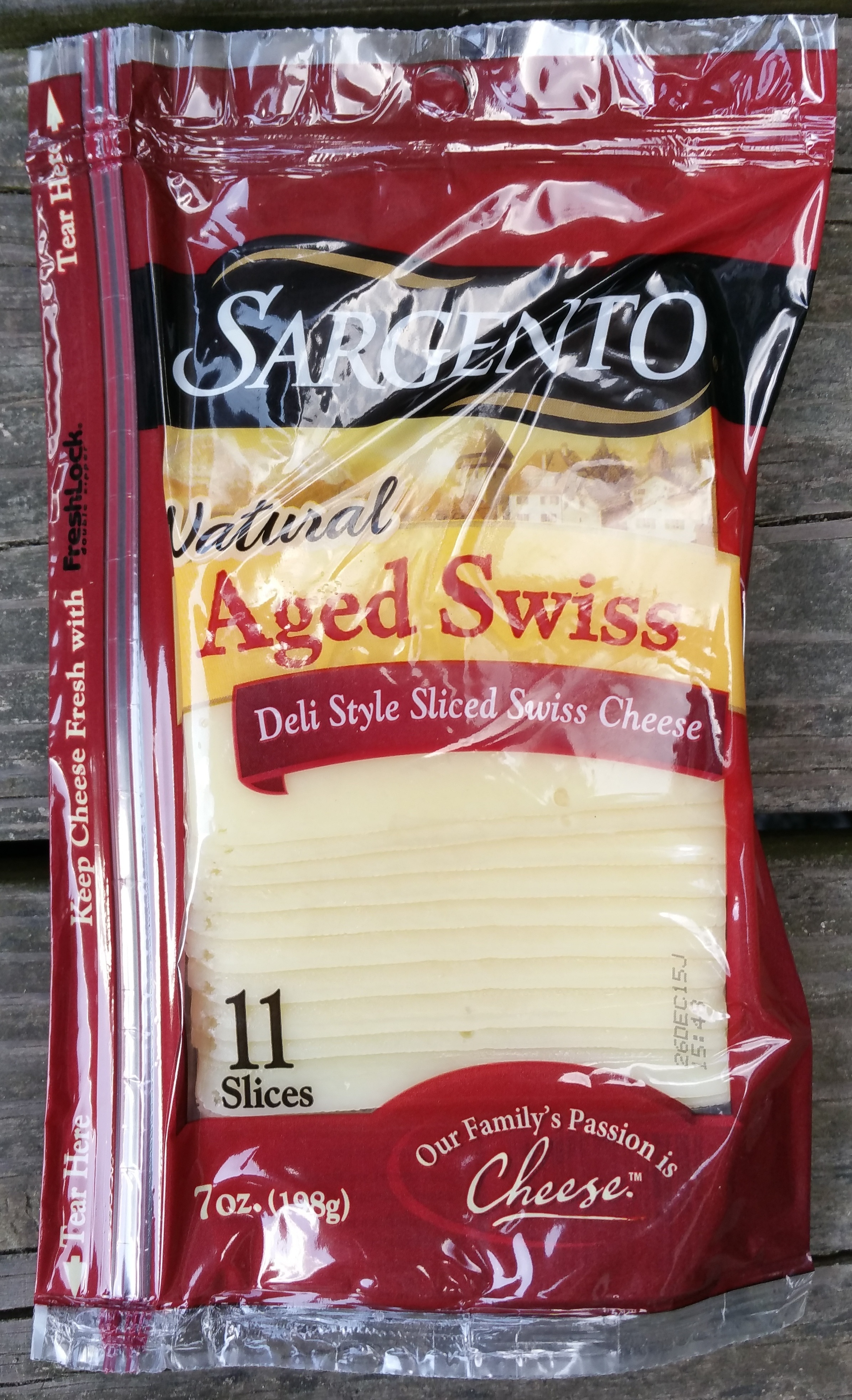 Natural Aged Swiss Cheese - Product